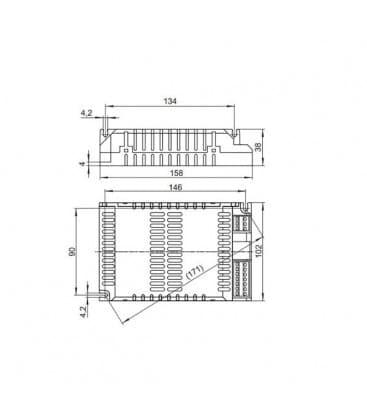 ELXc 120.838 1x60W, 2x60W, 1x85W, 1x120W TC-tEL