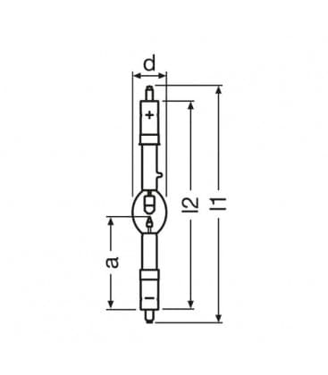 XBO 500W/H ofr SFa16-8/SFa15-10