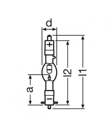 XBO 1000W/HSC ofr SK27/50/SFcX27-8