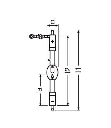 XBO 2000W/HS ofr SFaX27-9.5/SFa27-7.9