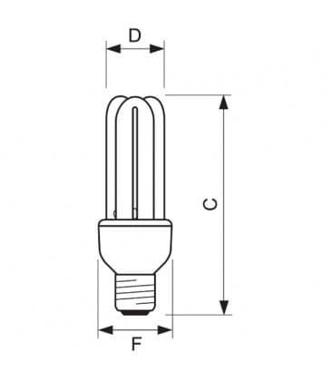 Genie 11W-865 CDL E27