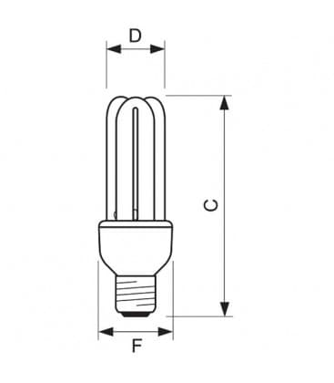 Genie 18W-865 CDL E27