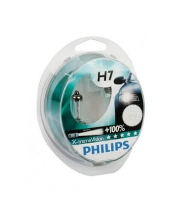 H7 12V 55W PX26d X-treme Vision+100 - Dvojno pakiranje
