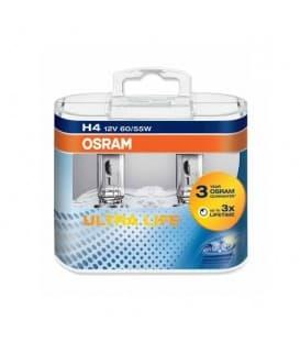 H4 12V 60W 64193 ULT P43t Ultra Life - Doppelpack