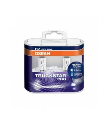H7 24V 70W 64215 LTS Tsp PX26d Truckstar PRO - Paquet double