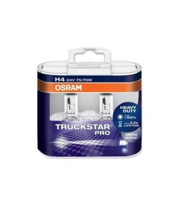 H4 24V 75W 64196 P43t Truckstar PRO Paquet double 64196-TSP-DUO 4008321785077