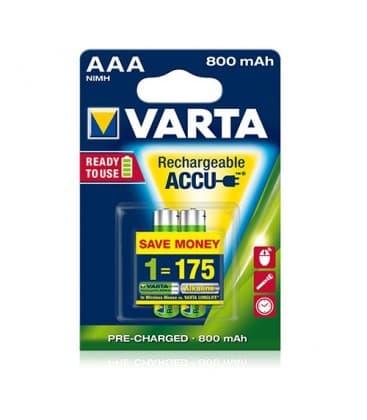 HR03 AAA 1.2V 800mAh 56703 Pila NiMH Ready to use