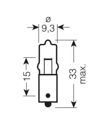 64111 12V 5W BA9s Original Line