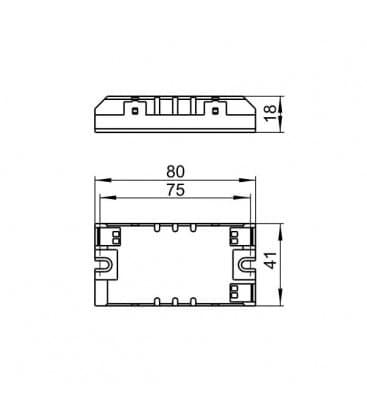 ELXs 116.900 1x4-16W TC-SEL, TC-dEL, TC-dD, T5, T8