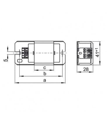 Dusilka LN18I.850 230V 50HZ TC-D/-T