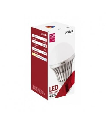 LED Globe G60 6W 220-240V WW E27