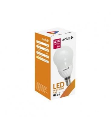 LED Mini Globe B45 5W 220-240V NW E14