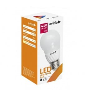 LED Mini Globe B45 5W 220-240V NW E27
