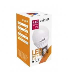 LED Mini Globe G45 5W 220-240V NW E27