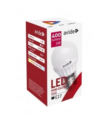 Led Mini Globe G45 5W 220V WW E27 ABMG27WW-5W 5999562282717