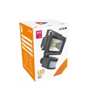 LED Reflektor 10W (100W) NW IP65 PIR avec detecteur de mouvement
