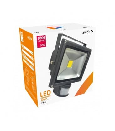 LED Reflektor 20W (200W) NW IP65 PIR mit Bewegungssensor