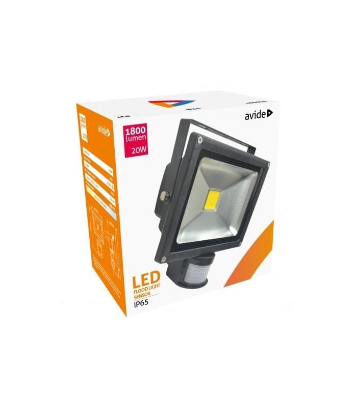 Led Reflektor 20w 200w Nw Ip65 Pir With Motion Sensor Abflnw ...