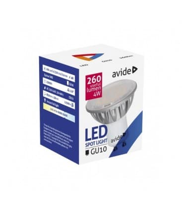 LED Spot Alu 4W CW GU10