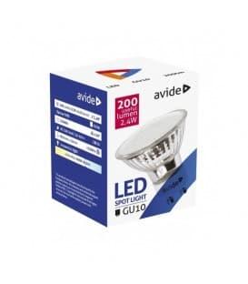 LED Spot Glass 2.4W CW GU10