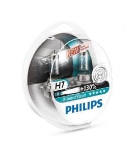 H7 12V 55W PX26d X-treme Vision+130 - Paquet double