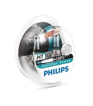H7 12V 55W PX26d X treme Vision+130 Paquet double 12972XVS2-DUO 8727900350265