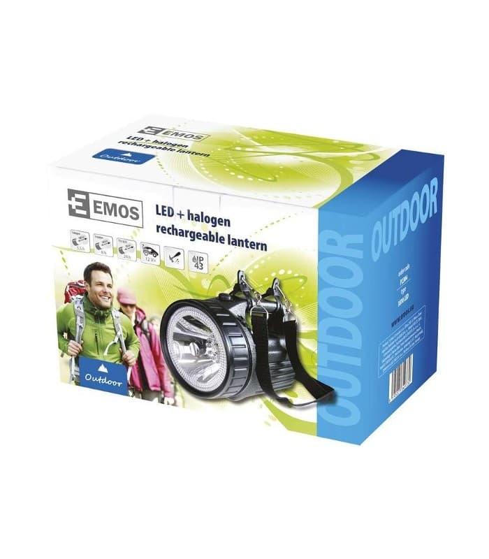 Emos Rechargeable halogen lantern EXPERT 3810 12 LED p2304 ...