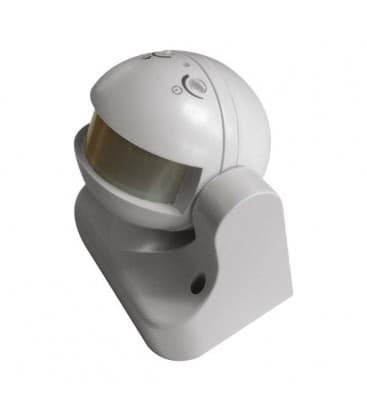 Motion sensor (PIR) LX39 180° White