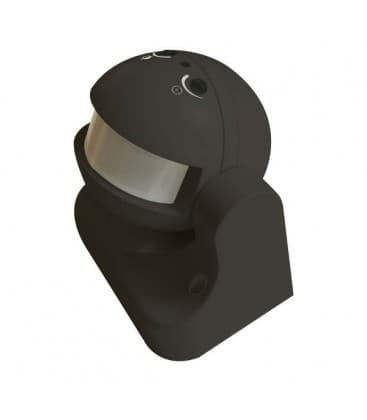Motion sensor (PIR) LX39 180° Black