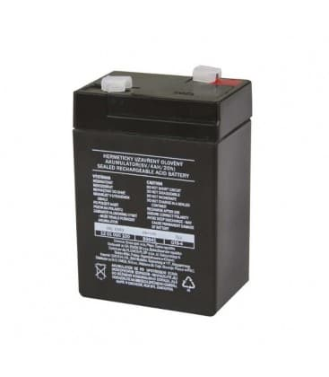 SLA Dodatni akumulator 6V/4Ah B9641 8595025318732