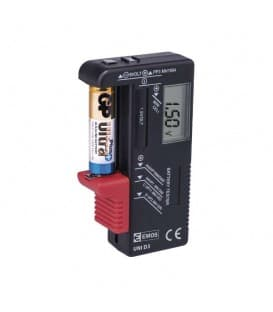 Battery tester with LCD