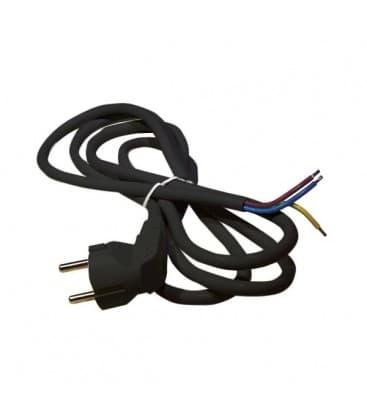 Flexo priključna vrvica 3x1mm² 2m črna S18312 8595025318671