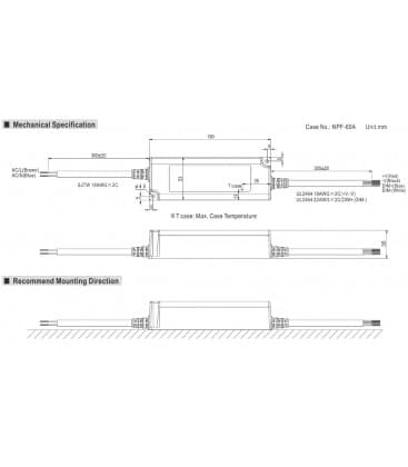 PWM-40-12, 12V / 40W / IP67