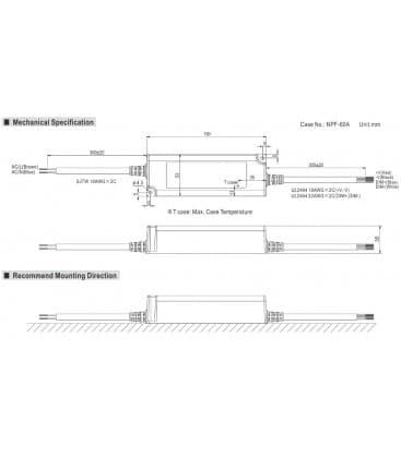 PWM-60-12, 12V / 60W / IP67