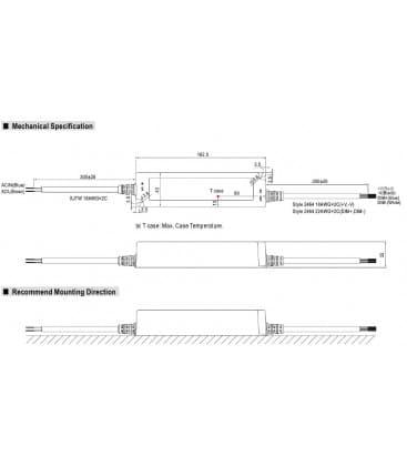 LPF-40D-12, 12V / 40W / IP67
