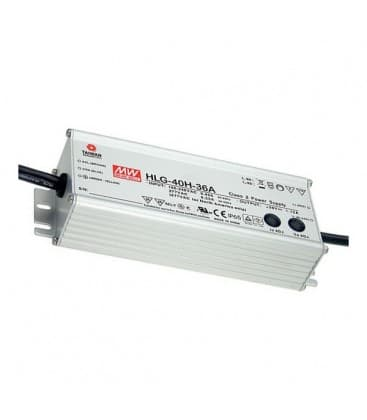 HLG-40H-12, 12V / 40W / IP67