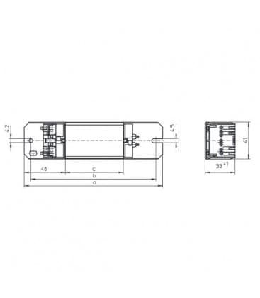 Ballast SL30.315 120V 60HZ T8