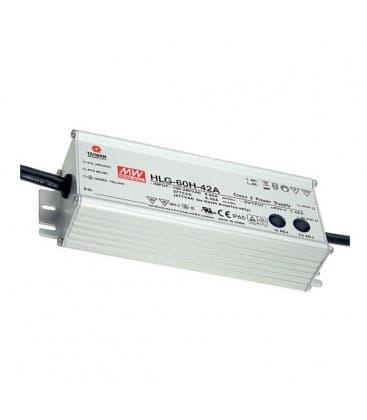 HLG-60H-24B, 24V / 60W / IP67