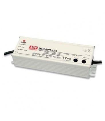 HLG-80H-24B, 24V / 80W / IP67