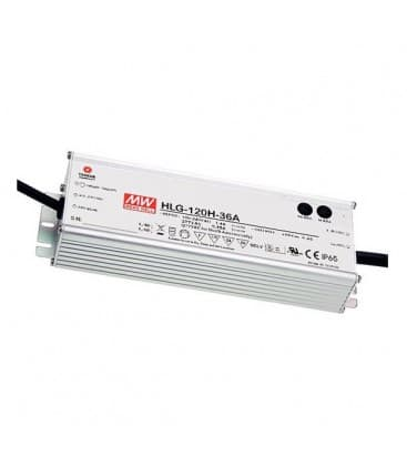 HLG-120H-12, 12V / 120W / IP67