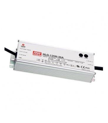 HLG-120H-24B, 24V / 120W / IP67