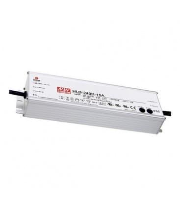 HLG-240H-24A, 24V / 240W / IP65