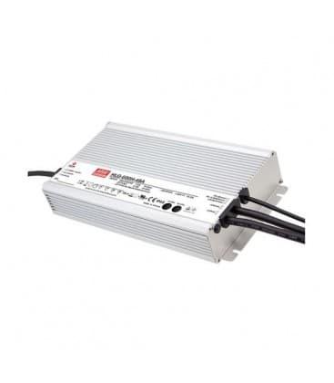 HLG-600H-12A, 12V / 480W / IP65