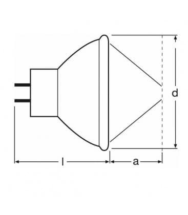 64607 EFM 50W 8V GZ6.35
