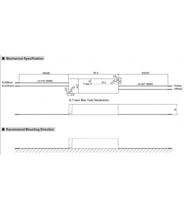 LPV-60-24, 24V / 60W / IP67