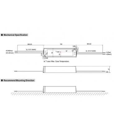 LPV-100-12, 12V / 102W / IP67