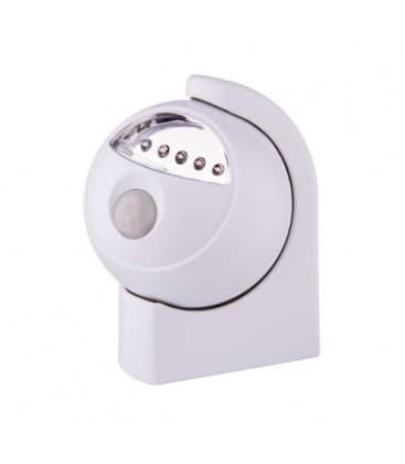 Lumière de nuit LED 5x + PIR+ capteur de lumière