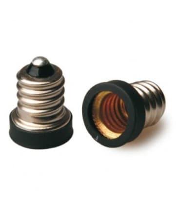 Adaptador de sostenedor lampara de E12 a E10