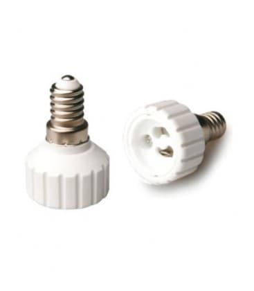 Adapteur de support de lampe de E14 a GU10