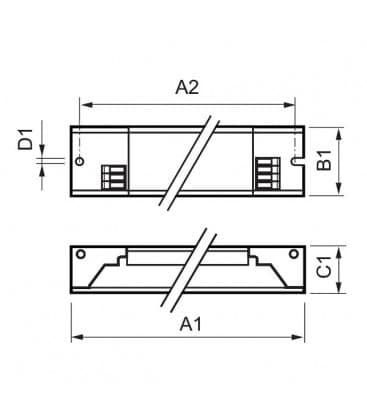 HF-P 158 TL-D III 220-240V